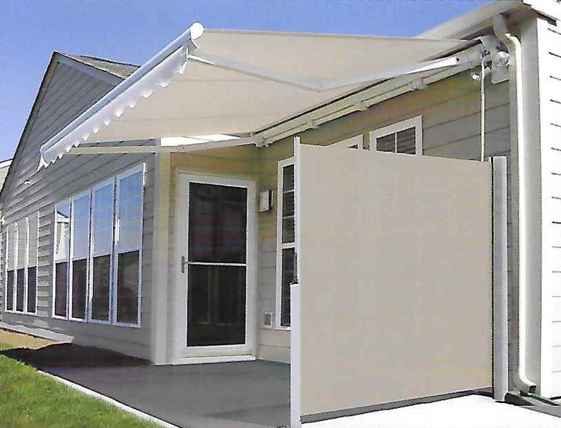 Horizontal shades l f pease company for Retractable privacy screen