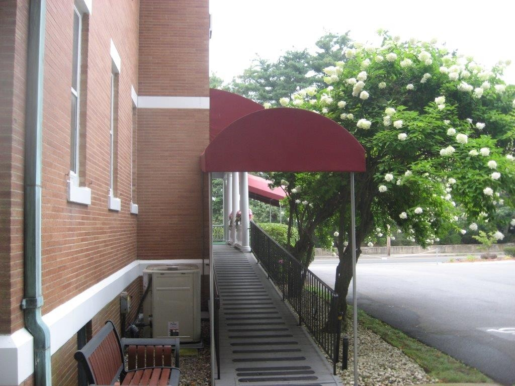 Entrance Amp Walkway Canopies Gallery L F Pease Company