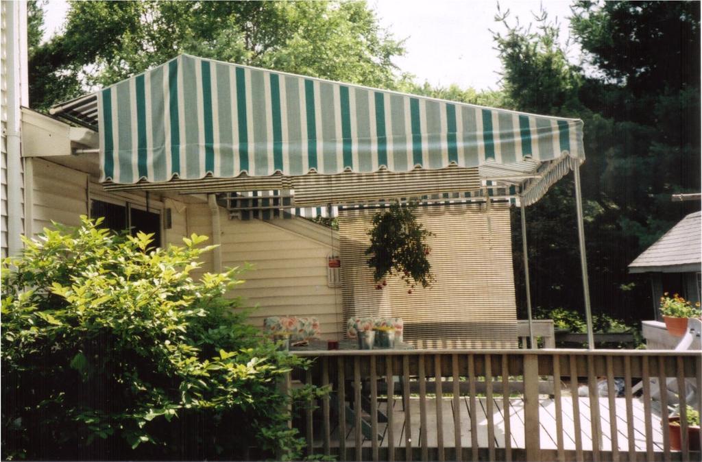 Seasonal Deck Shade Gallery L F Pease Company