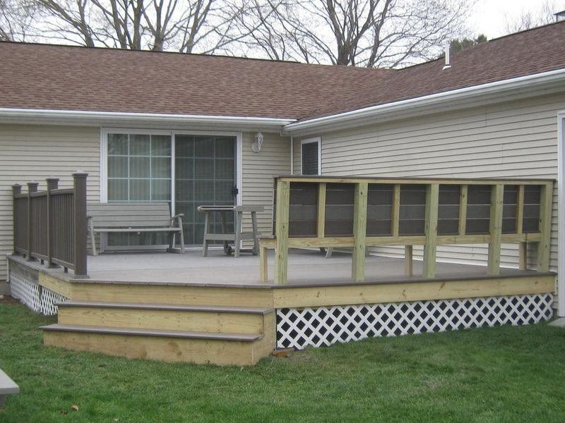 New Deck or Patio Construction: L.F.Pease Company