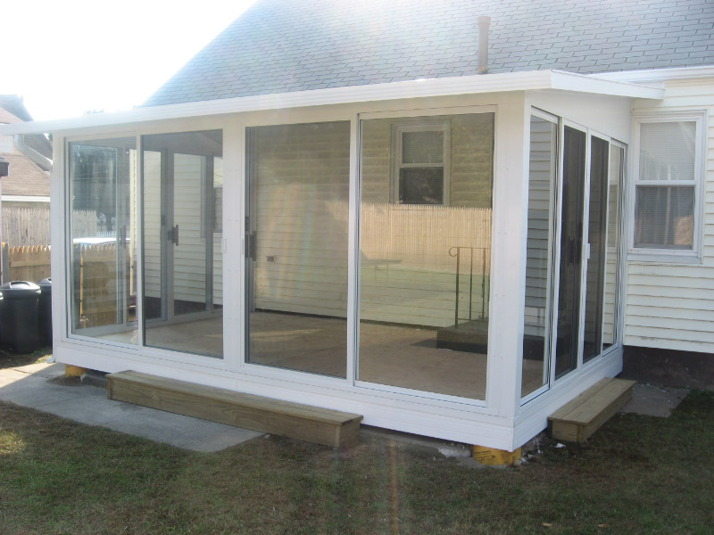 Sunroom Before After Pictures L F Pease Company