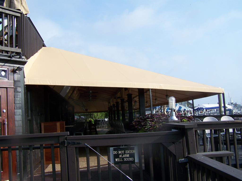 Restaurant Canopies Amp Curtains Gallery L F Pease Company