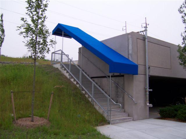 Steel Patio Roof