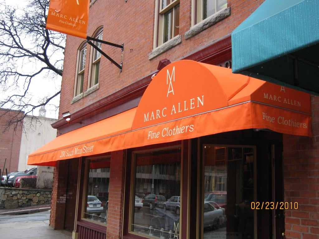 Store Front Awning Gallery L F Pease Company