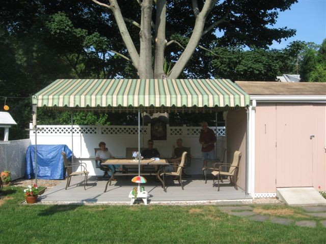 Poolside Yard Awnings Gallery