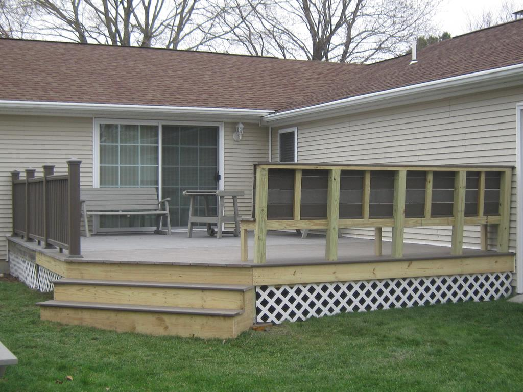 Beautiful New Deck Or Patio Gallery